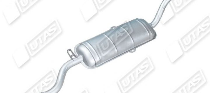 Basic silencer without lower hood: